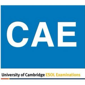 Certificate in Advanced English (CAE)
