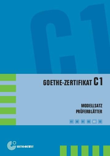 Goethe Zertifikat C1 Ils