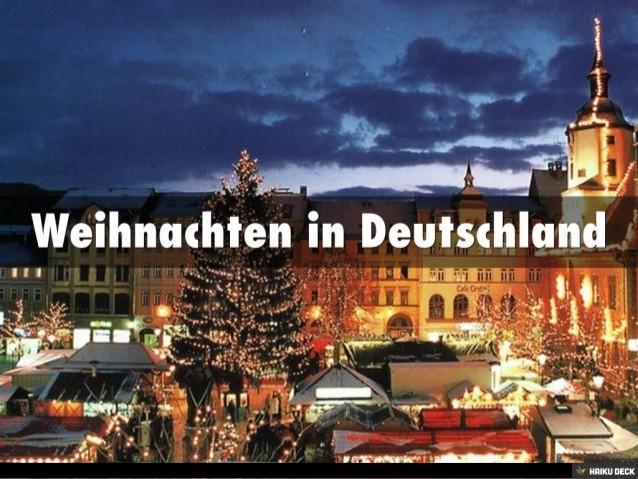 Awesome Weihnachtsbräuche In Deutschland Contemporary - Best ...