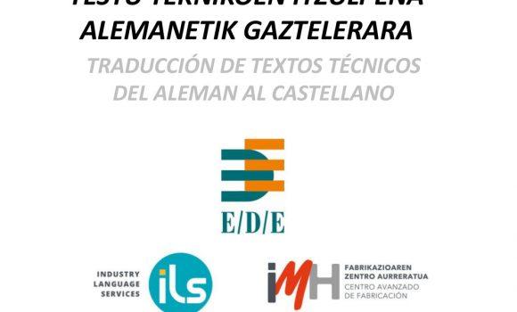 TRADUCCIÓN DE TEXTOS DEL ALEMAN AL CASTELLANO