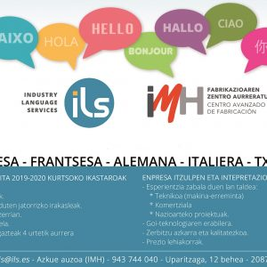 ILS – Curso 2019/2020 – Matricula abierta!